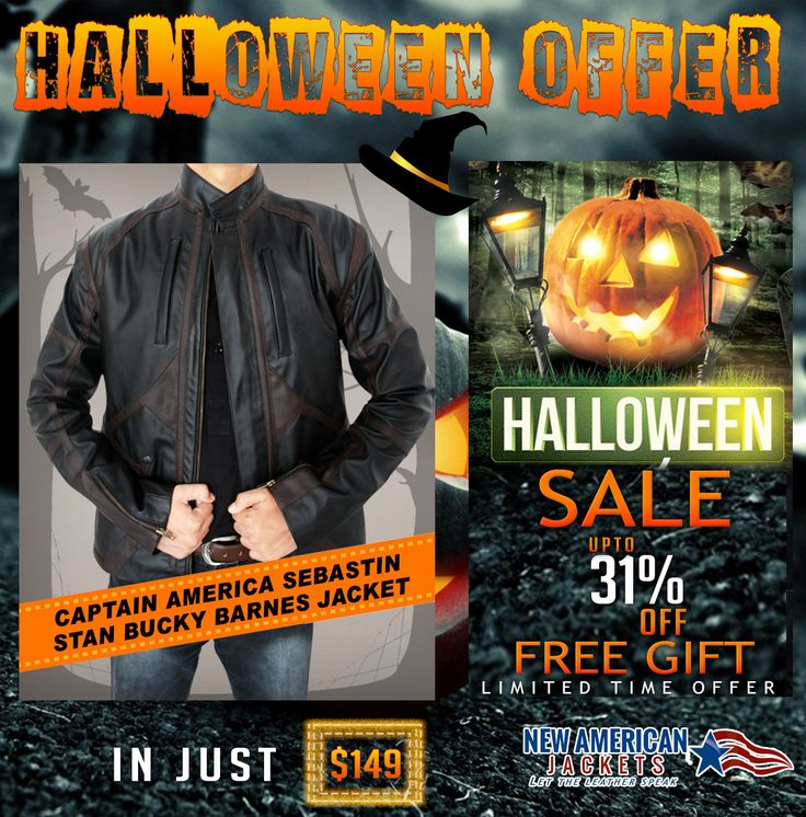 Halloween Clearance Sale! Captain America Sebastin Stan Bucky Barnes Jacket now available on discount Sale Offer along Free shipping Worldwide. >>  ‪#‎MaleClothing‬ ‪#‎Gifts‬ ‪#‎fallcoat‬ ‪#‎falljacket‬ ‪#‎fall‬ ‪#‎halloween‬ ‪#‎halloweenfashion‬ ‪#‎halloweenstyle‬ ‪#‎costume‬ ‪#‎boysFashion‬ ‪‪#‎irememberhalloween‬ ‪#‎fashionshow‬ ‪‬ ‪#‎HalloweenGifts‬ ‪#‎HalloweenStore‬ #HalloweenFashion ‪#‎HalloweenClothing‬ #HalloweenStyle ‪#‎HalloweenOutfit‬ #HalloweenCostume #HalloweenStore…