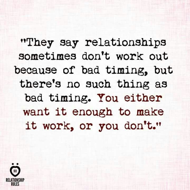 Dating Is Bad Timing An Excuse