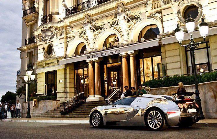 Hôtel de Paris, Monaco.