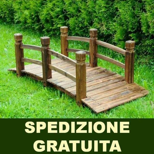 Ponte in legno da giardino NUOVO Spedizione... a Genova - Kijiji