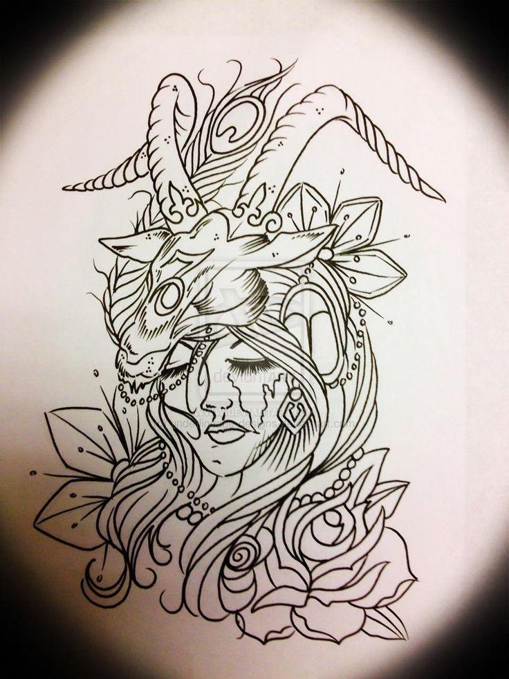 Lady Capricorn by ~underlineage-designs on deviantART