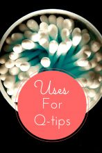 5 Uses for Q-Tips!