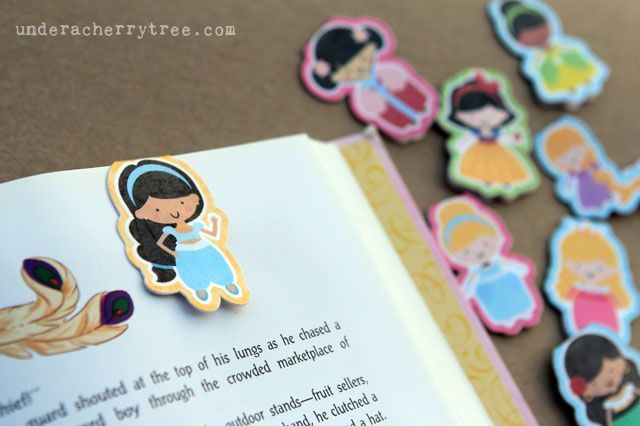 How to make Magnetic Bookmarks with Silhouette Cameo
