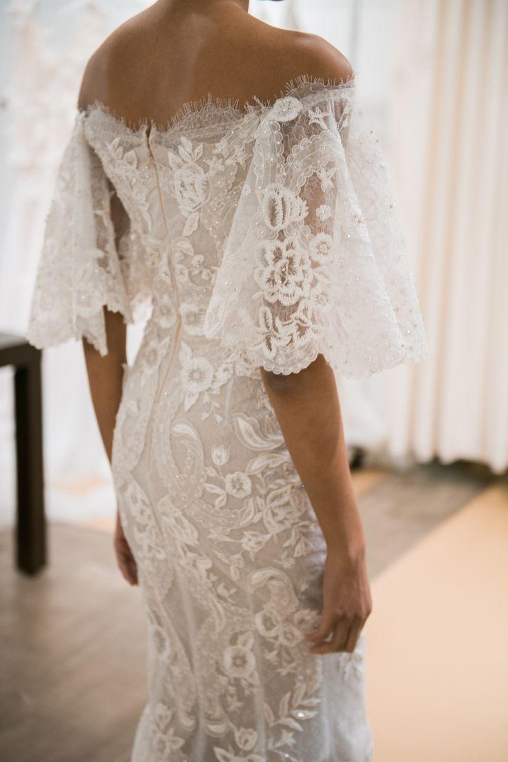 The 25 best marchesa bridal ideas on pinterest marchesa for Wedding dress bell sleeves