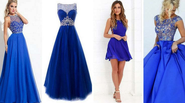 10+ Modelos Lindos Azul Royal
