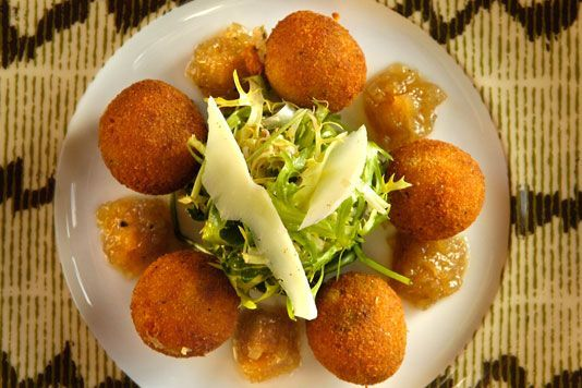 Another goat cheese fritter recipe