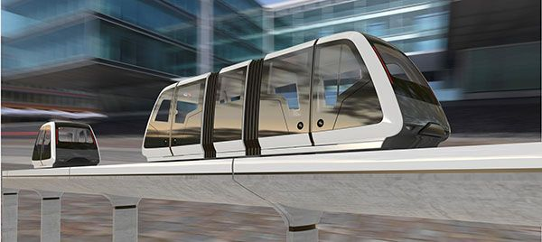 Personal Rapid Transit vehicles are jointly developed by the design firm Pininfarina and Vectus Intelligent Transport. - Image - Railway Technology