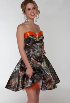 Camouflage Prom Dress Camo Dresses Under 100