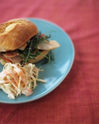 wicked chicken with coleslawChicken Sandwiches, Chicken Recipes, Wicked Chicken, Pack Lunches, Chicken Thighs, Baking Chicken, Summer Dinner, Food Recipe, Jamie Oliver