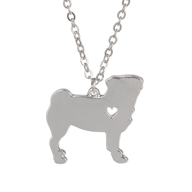 Ultimate Pug Necklace (Gold or Silver)