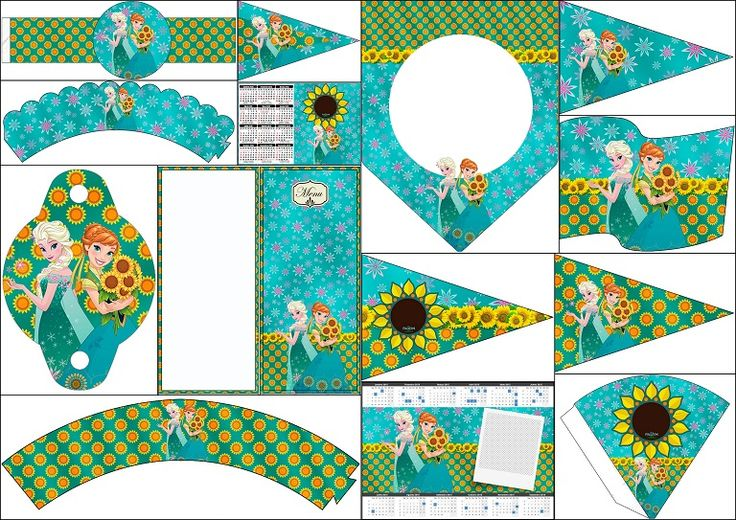 Frozen Fever Party: Free Party Printables.