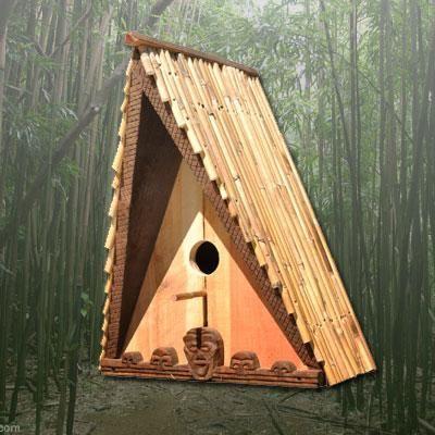 Tiki Birdhouses