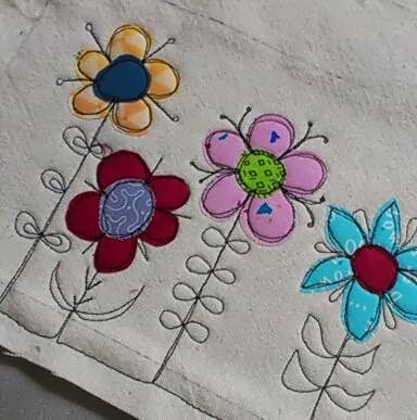 Scribbly Stitch Make It Free Motion Embroidery