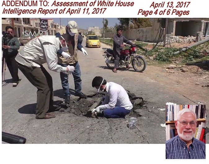 MIT engineer Postol says Putin right; NO EVIDENCE Sarin gas attack by Syria in WH accusations or study of evidence on the ground. Putin telling the truth. Liar TRUMP used fake facts & bombing as segue. https://www.rt.com/usa/384800-syria-gas-professor-addendum/ https://www.whitehouse.gov/the-press-office/2017/04/11/background-press-briefing-syria-4112017 http://www.freerepublic.com/focus/news/3543703/posts?page=38