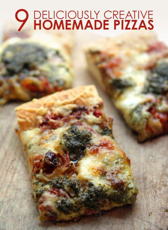 9 Creative Homemade Pizza Recipes