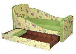 Детский диван Микка описание, фото, выбор ткани или обивки, цены, характеристики