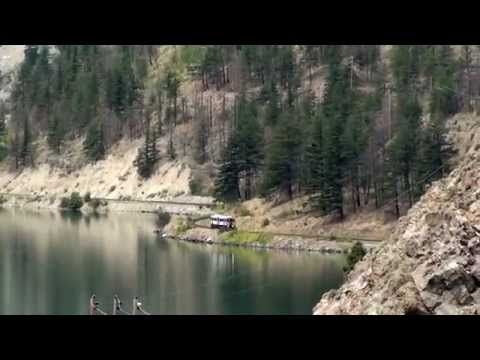 Kaoham Shuttle - Lillooet to Seton Portage - YouTube