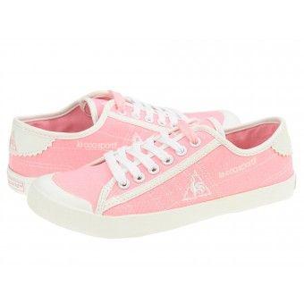 Tenisi dama Le Coq Sportif Malon Low SR fluo pink
