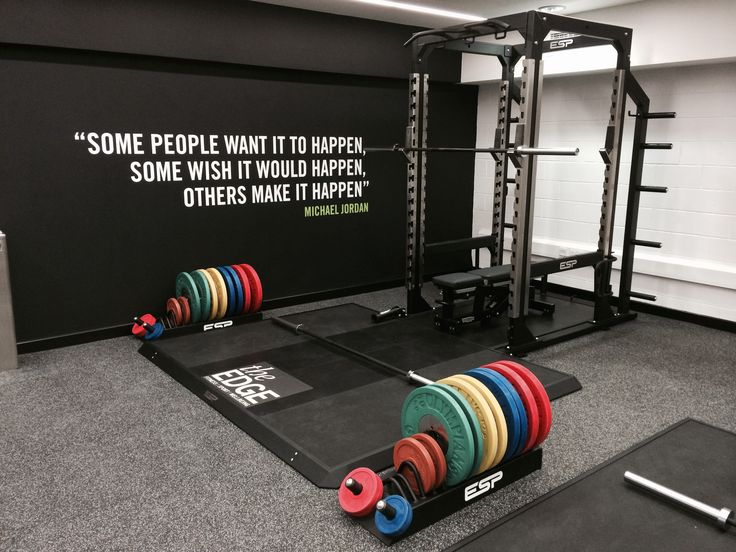 Best gym decor ideas on pinterest room basement