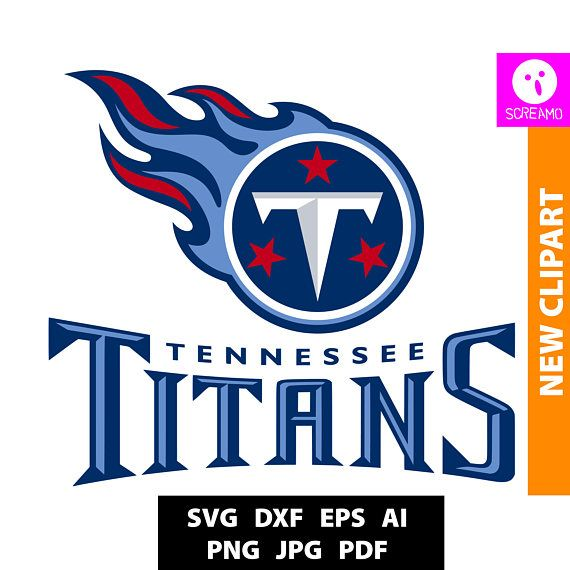 TENNESSEE TITANS SVG cut files print files clipart vector