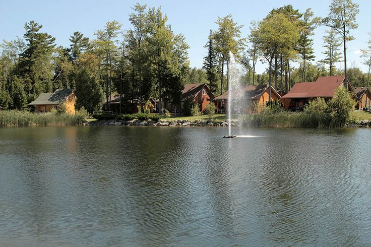 Lakes of Wasaga Cottage and RV Resort in Wasaga Beach, Georgian Bay, Ontario
