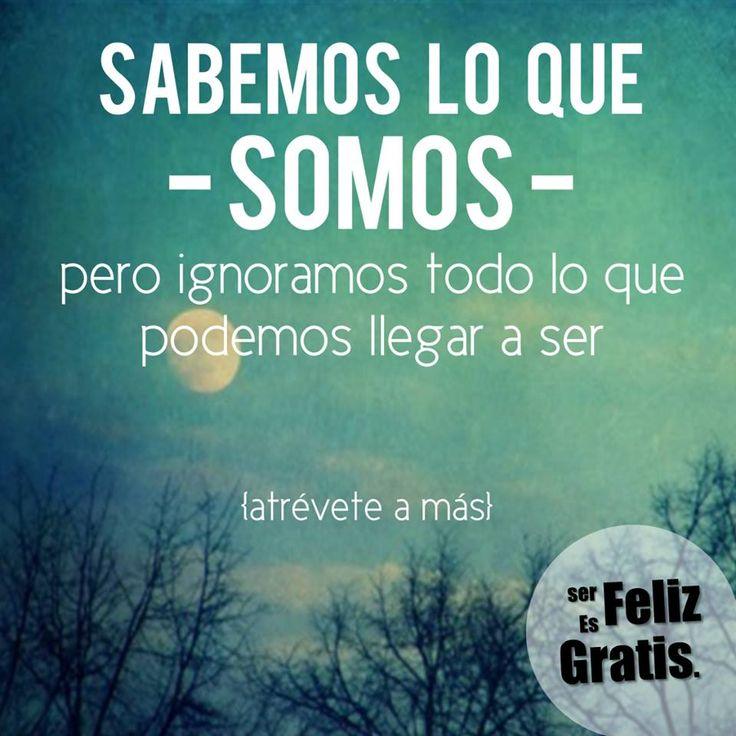 Ser feliz es Gratis #Frases