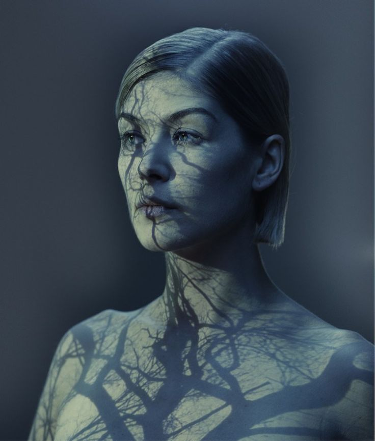 """Gone Girl"" star Rosamund Pike as photographed by Nadav Kander"