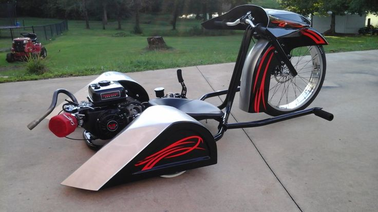 Check out the Dirty Daddy Bagger Drift Trike Build. This beast was a collaboration between Trike Daddy Customs and Dirt South Drifters