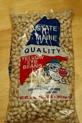 """Baked Beans """"the way Mum used to do it""""  Yellow Eye Beans :-)"""