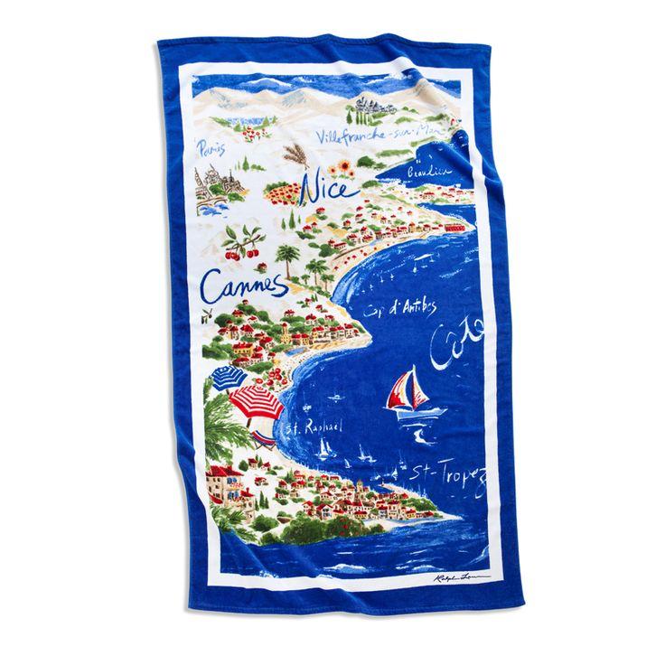 Ralph Lauren Mens Beach Towel: 66 Curated Seaside Ideas By RalphLaurenHome