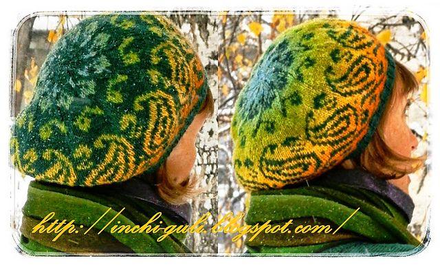 Ravelry: Autumn paisley pattern by Inna M.    в свободном доступе / free     русский / english