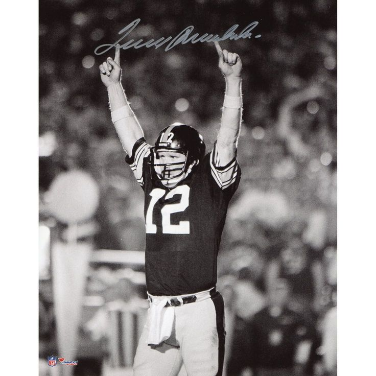 """Terry Bradshaw Pittsburgh Steelers Fanatics Authentic Autographed 8"""" x 10"""" Pointing Fingers Photograph - $199.99"""