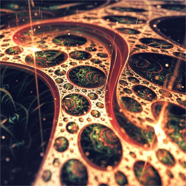 3D Apophysis Flames by Chiara Biancheri , via Behance