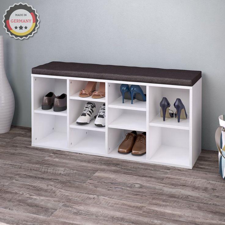 die besten 25 schuhschrank mit sitzbank ideen auf. Black Bedroom Furniture Sets. Home Design Ideas