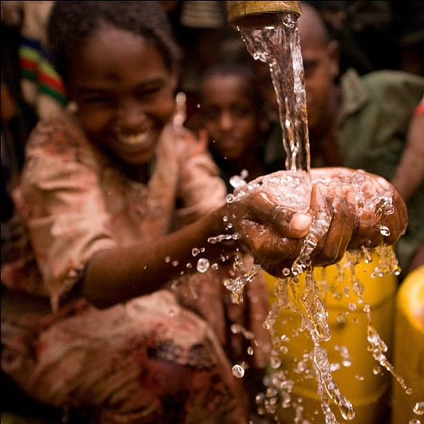 This charity: water well in Ethiopia provides over 1600 ...