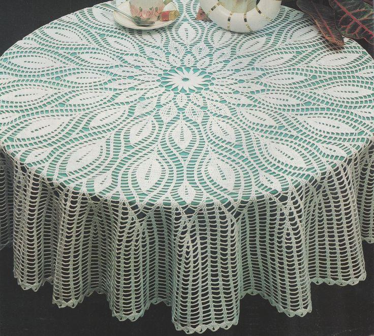 crochet nappe feuilles pour gu ridon tutoriel gratuit d coration au crochet pinterest. Black Bedroom Furniture Sets. Home Design Ideas