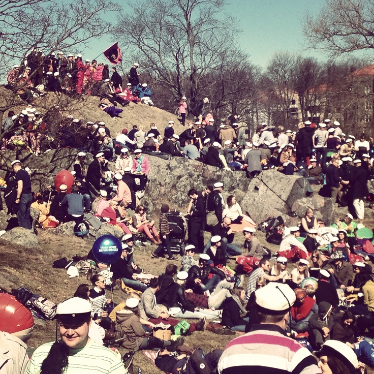 The First of May in Helsinki