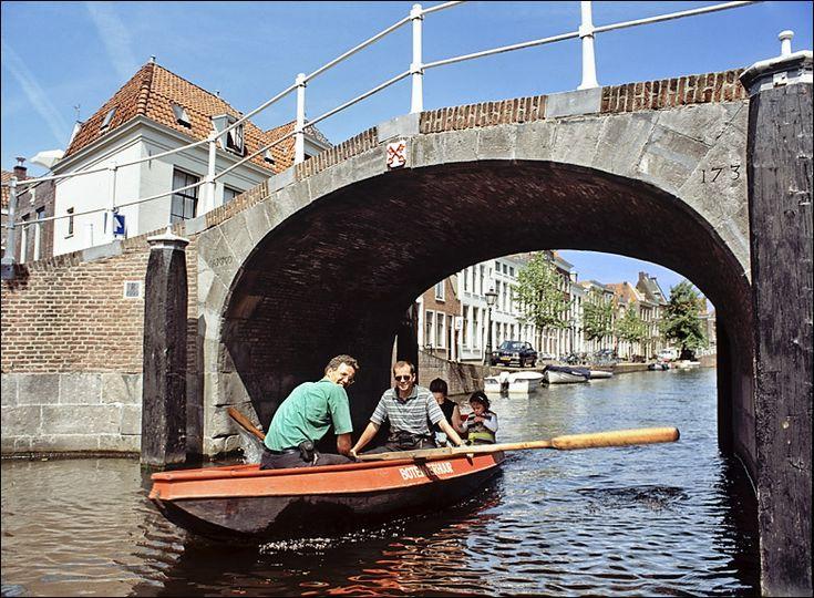 Molensteegbrug, Leiden Holland