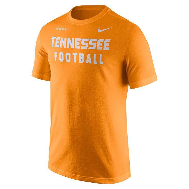 Men's Nike Tennessee Volunteers Football Facility Tee, Size: Medium, Orange