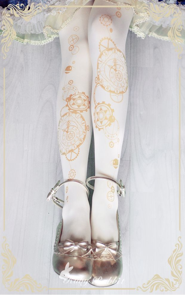 --> New Release: [-☪-The Astrologer's Universe-☪-] Lolita Tights --> Only 11.99USD during the pre-order --> Learn More >>> http://www.my-lolita-dress.com/ruby-rabbit-the-astrologer-s-universe-lolita-tights-rr-6