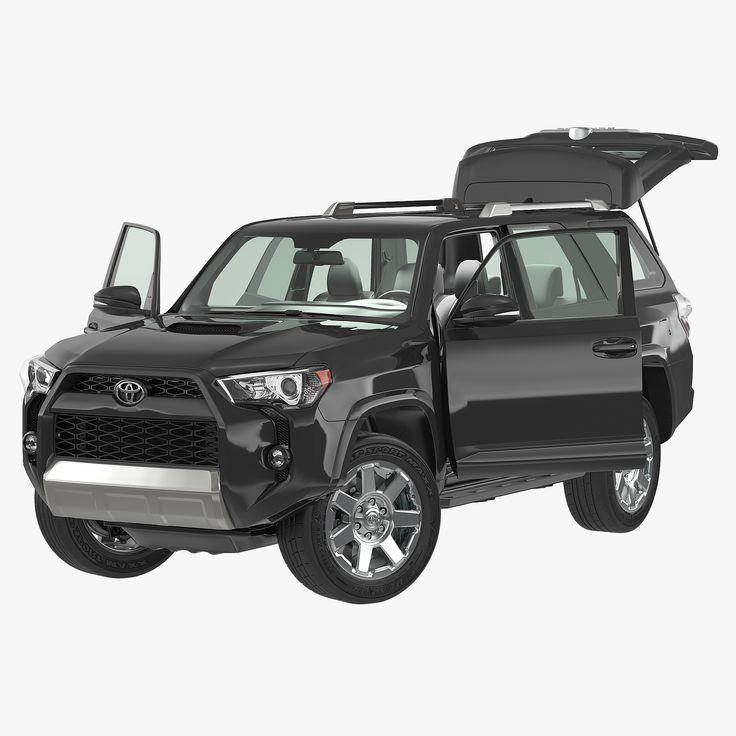 Max Toyota 4Runner 2015 Rigged - 3D Model