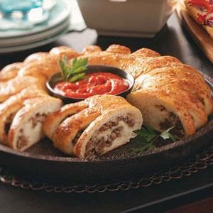 Stromboli Ring. This will make a game day dis-appearance!