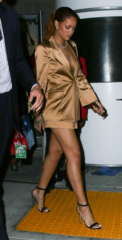 Rihanna's Post-BET Awards Street Style Moment Is Golden
