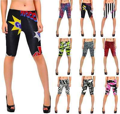 New #ladies cycling #shorts stretchy  strechy long #shorts  #leggings size8-22,  View more on the LINK: http://www.zeppy.io/product/gb/2/301633985836/