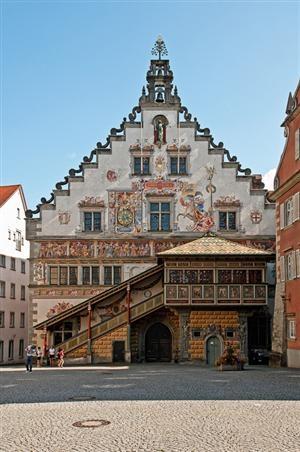 Lindau, Allemagne. Une des plus jolies petites villes que j'aie jamais vues (sur le lac de Constance).