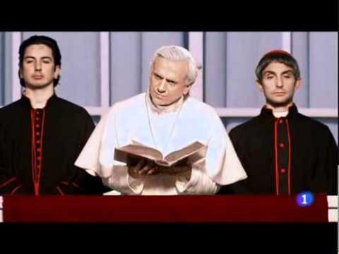 Especial Nochevieja con José Mota 2010 - Un papa americano / mi humor está en un punto que este video me pone de buenas :D