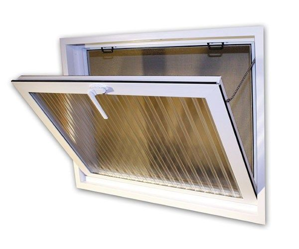 Basement security windows allow ventilation just like the windows they replaced but with the added benefits of dramatically improved energy efficiency.