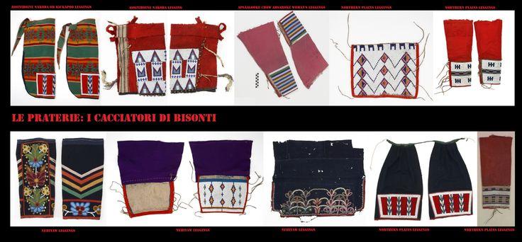 I leggings da donna, delle praterie settentrionali confezionati con stoffa commerciale.