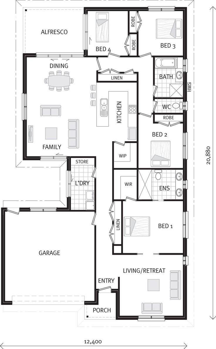 Riverside 3 sizes home designs in wangaratta g j for Riverside house plans