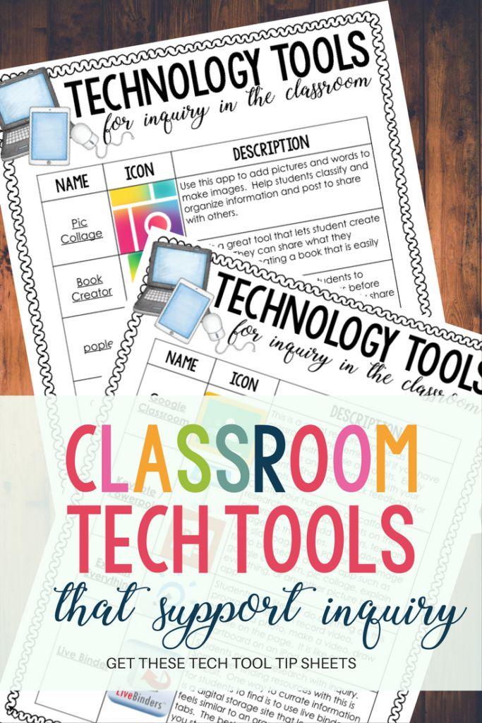 Classroom Tech Tools That Support Inquiry – Madly Learning